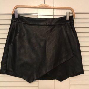 Mini Leather (fake leather) Skirt